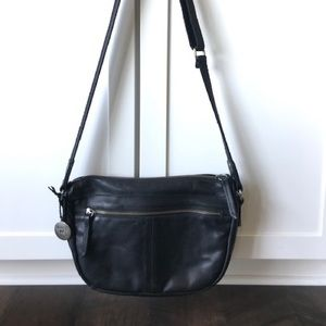 Will Leather Goods black purse
